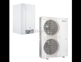 BAXI PBS-i 16 TR H WH2 levegő-víz hőszivattyú, kiegészítő fütés - kazán, 400V, 16kW