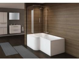 Kolpa San - GRAZIA 170/O -  D 170x80 (105) aszimmetrikus fürdőkád