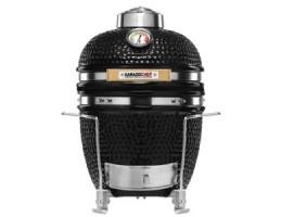 """Broil King Kerámia grill - Kamado Chef 1100 Prestige Diamond Black (rozsdamentes acél) 11""""-os"""