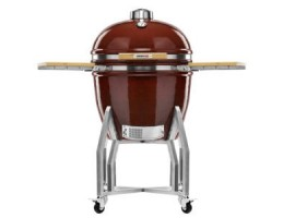 "Broil King Kerámia grill - Kamado Chef 2200 Prestige Red Smooth (rozsdamentes acél) 22""-os"