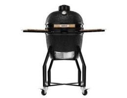 "Broil King Kerámia grill - Kamado Chef 1600 Classic Diamond Black (porszórt acél) 16""-os"