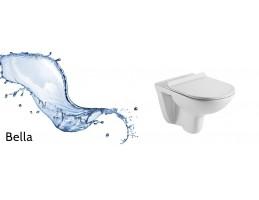 Wellis - Bella fali rimless WC