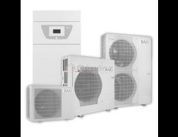 BAXI PBS-i 11 TR E FS2 levegő-víz hőszivattyú, HMV tartállyal, kiegészítő fütés - elektromos, 400V, 11kW