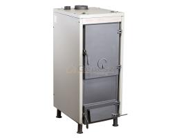 UTH THERMI 30 szilárd tüzelésű kazán, lemez, 2 ajtós, huzatszabályzóval, 30kW