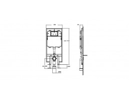 Wellis - Clarice WC tartály