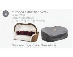 Spatrend - Furniture Cover 4 Vízhatlan védőhuzat