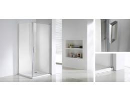 Wellis - Quadrum egy nyílóajtós szögletes zuhanykabin