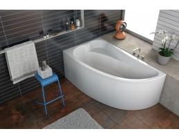 Kolpa San - Calando-L 150x85 beépíthető aszimmetrikus fürdőkád