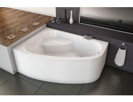 Kolpa San - Chad-D 170x120 beépíthető aszimmetrikus fürdőkád