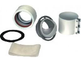 BAXI AFR szétválasztott indítóidom (Main, Digit, Eco3 Compachoz) d60/100-80/80mm
