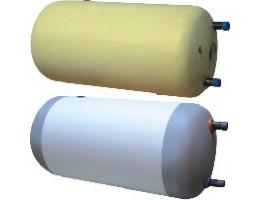 CONCEPT SGW(L)x2 120 zománcozott indirekt tároló, fekvő, 1 csőkígyval, műanyag burkolatú PUR szigeteléssel