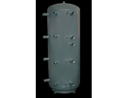 Concept 2WT-1500-00 puffertároló, 2 csőkígyóval, 1500 literes, D=1000mm