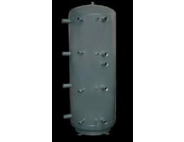 Concept 2WT-2000-00 puffertároló, 2 csőkígyóval, 2000 literes, szig. nlk. D=1100mm