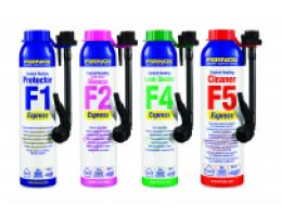 FERNOX Leak Sealer F4 Express szivárgás tömítő folyadék 100 liter vízhez, 265ml