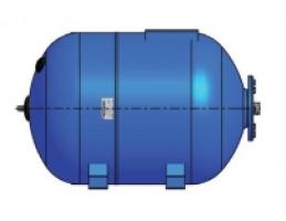 """GITRAL GBH-120 hidrofor tartály, kék, fekvő, 120l, 1"""", 8bar, -10°C...+99°C"""