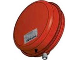 """GITRAL VPC-A-12 kerek fűtési tágulási tartály 12l, 3/4"""", 3bar, 90°C"""