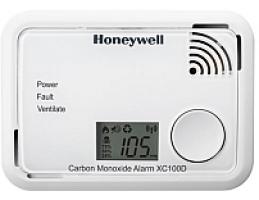 HONEYWELL XC100D szén-monoxid (CO) vészjelző, 10 év+LCD, 90dB, (EN50291:1-2010)