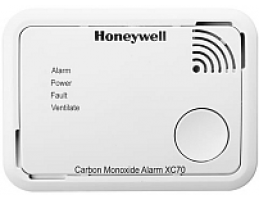 HONEYWELL XC70-A szén-monoxid(CO) vészjelző, 7év, 90dB, (EN50291:1-2010)