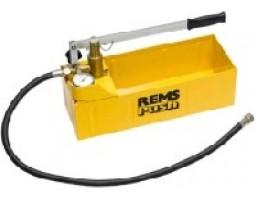 """REMS Push nyomás-próbapumpa, 60bar/870psi, 1.5m tömlő, 1/2"""" csatlakozás"""