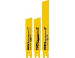 REMS erősített fűrészlap, HSS-Bi, sárga, 5db, fogosztás 3.2mm, 200mm