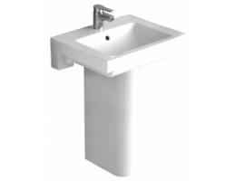 ALFÖLDI 5108/L1 Liner mosdó, Easyplus, fehér, 61x47cm