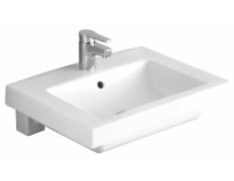 ALFÖLDI 5129/L1 Liner beépíthető mosdó, Easyplus, fehér, 55x44cm