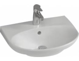 ALFÖLDI Melina mosdó, középső csapfurattal, Easyplus, fehér, 60x46cm