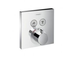 Hansgrohe - ShowerSelect termosztát falsík alatti szereléshez 2 fogyasztóhoz