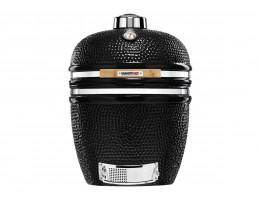 Broil King Kerámia grill - Kamado Chef 1900 Prestige Diamond Black Stand Alone (rozsdamentes acél)