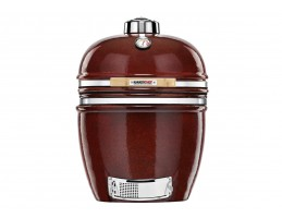Broil King Kerámia grill - Kamado Chef 1900 Prestige Red Smooth-Stand Alone (rozsdamentes acél)
