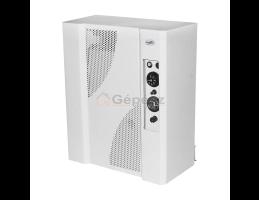 MIKA 6E mini fűtőkazán, turbós, ionizációs, tágulási tartállyal, fehér, 6kW
