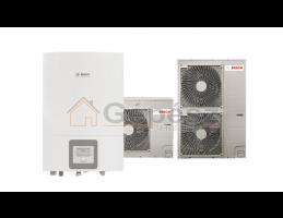 BOSCH ODU Split 15s + Compress 3000 AWES 8-15 levegő-víz hőszivattyú, 230V