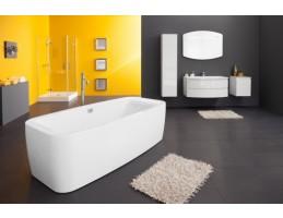 Kolpa San - OTHELLO 185 - FS matt fehér térbe állítható fürdőkád