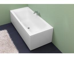 Kolpa San - Aida 180x80 egyenes fürdőkád Vízmasszázs I.