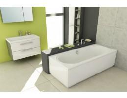 Kolpa San - Carmen 180x80 egyenes fürdőkád Vízmasszázs I.