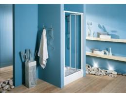 Kolpa San - Luna TVZ/S 90 zuhanyajtó két fal közé átlátszó