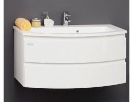 Kolpa San - IMAN OUI 100 Fehér szekrény mosdóval