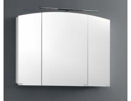 Kolpa San - IMAN TOI 100 Fehér tükrös szekrény üveg polcokkal, LED