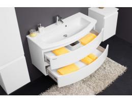 Kolpa San - IMAN OUI 80 Fehér szekrény mosdóval