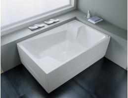 Kolpa San - Nabucco 190x120 beépíthető egyenes fürdőkád Vízmasszázs I.