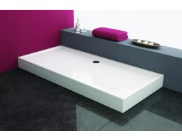 Kolpa San - Flamenco 160x90 beépíthető akril szögletes zuhanytálca