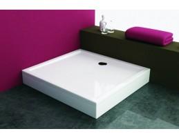 Kolpa San - Flamenco 130x80 beépíthető akril szögletes zuhanytálca