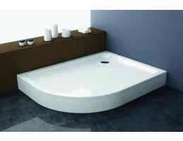 Kolpa San - Malur-L 120X90 beépíthető negyedköríves zuhanytálca