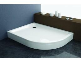 Kolpa San - Malur-D 120X90 beépíthető negyedköríves zuhanytálca