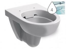 KOLO Rimfree Nova Pro mélyöblítésű WC, fali, fehér
