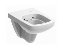 KOLO Rimfree Nova Pro mélyöblítésű WC, fali, szögletes,fehér