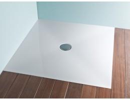Kolpa San - STEP ZERO 120X80 + SZIFON Négyszögletű Zuhanytálca