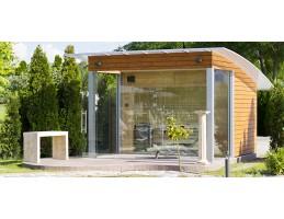 Wellis - Épített finn szaunaház