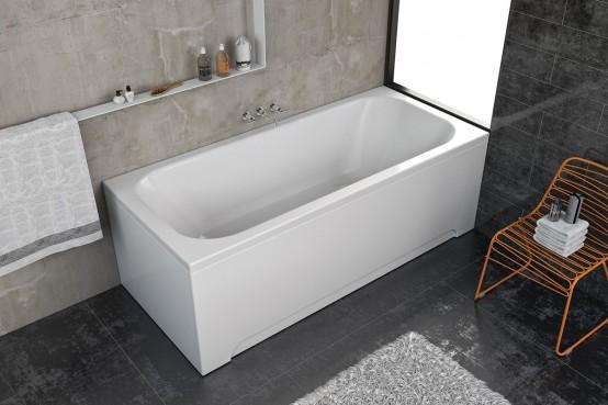 Kolpa San - Destiny 160 160x70 beépíthető egyenes fürdőkád