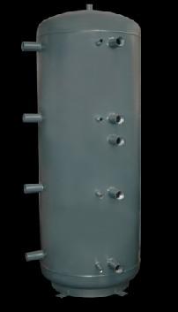 Concept 0WT-1500-00 puffertároló, 1500 literes, D=1000mm